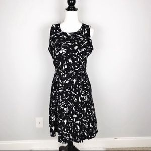 NWT Lysse Printed Fit & Flare Dress